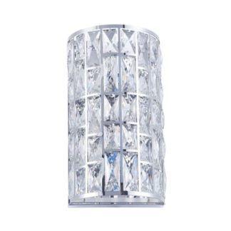 Duża lampa ścienna Gelid - Maytoni - kryształki