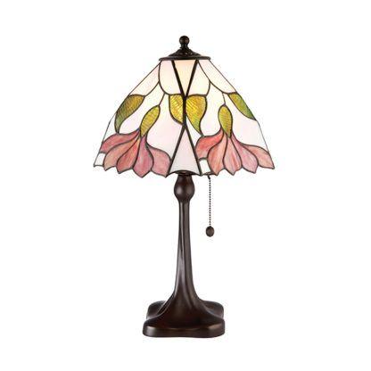 Duża lampa stołowa Botanica - Interiors - szkło, metalowa podstawa