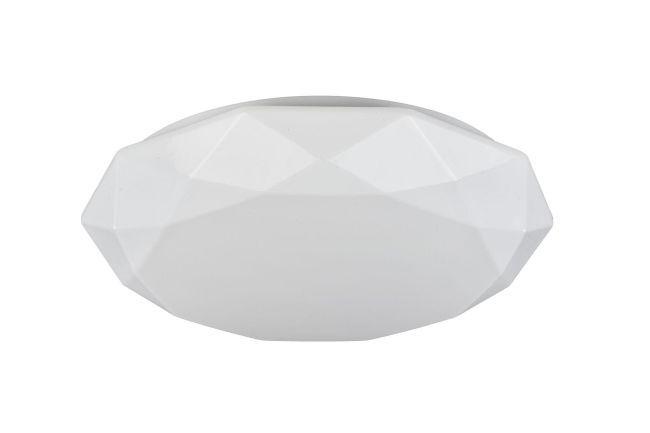 duży biały plafon do salonu