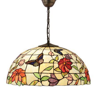 Duża lampa wisząca Butterfly - Interiors - kolorowa