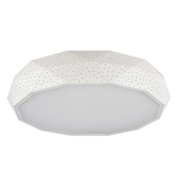 dziury w lampie białej