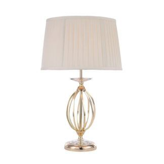 Elegancka lampa stołowa Grace złota