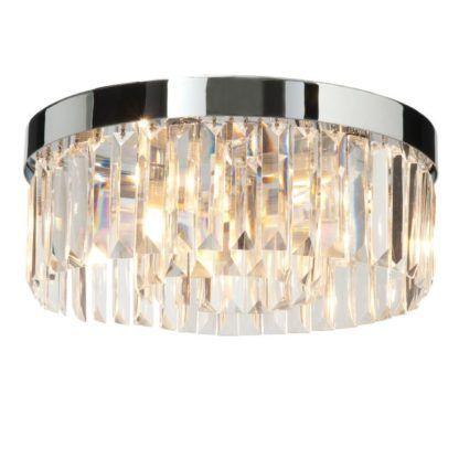 Elegancka lampa sufitowa Crystal - Endon Lighting