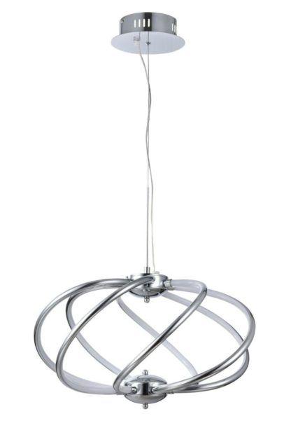 Elegancka lampa wisząca Venus 07- Maytoni - chrom