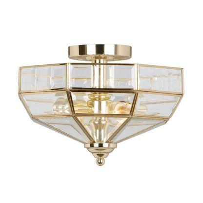 Elegancki plafon w stylu nowojorskim - Art Deco złoty