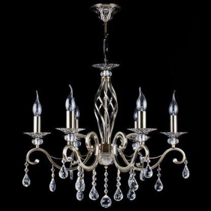 Elegancki żyrandol Grace - Maytoni - 6 żarówek - kryształki