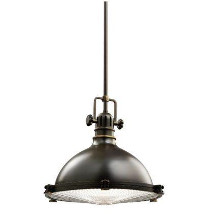 Industrialna lampa wisząca Jackson mała - brązowa