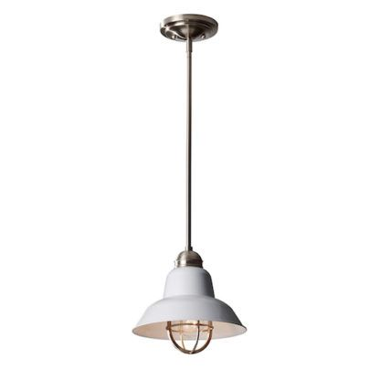 Industrialna lampa wisząca - Urban Class - biała