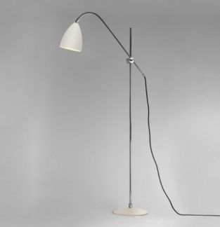 Lampa podłogowa Joel Astro Lighting kremowa