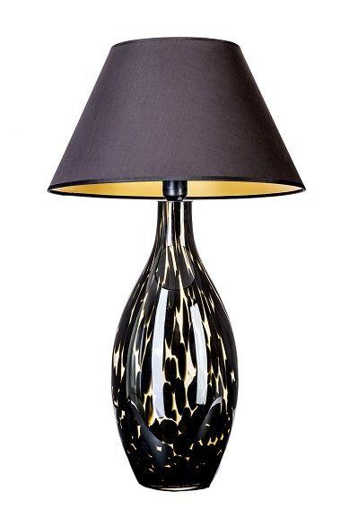 Lampa stołowa - Kenya 4concepts - czarna