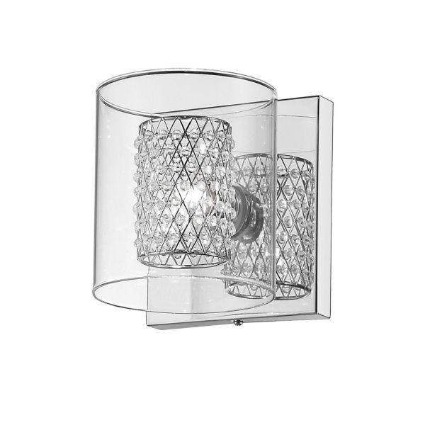 Kinkiet Belinda - Maytoni - szkło, kryształki