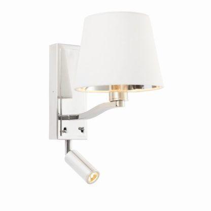 Kinkiet Harvey - Endon Lighting - 2 źródła światła - srebrny
