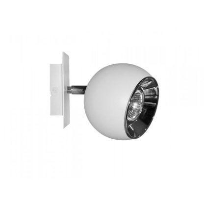 Kinkiet Kula - AV-Lighting - biały metal