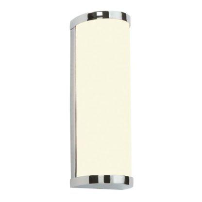 Kinkiet łazienkowy Ice - Endon Lighting - chrom, szkło