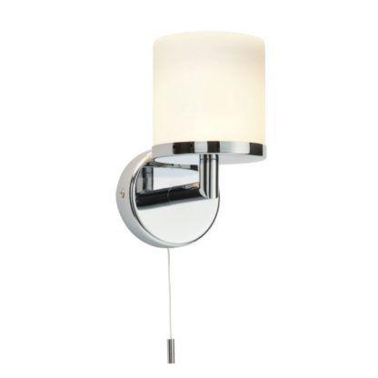 Kinkiet łazienkowy Lipco - Endon Lighting - chrom, szkło