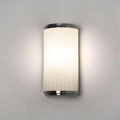 Kinkiet Monza LED - Astro Lighting - chrom, biały klosz