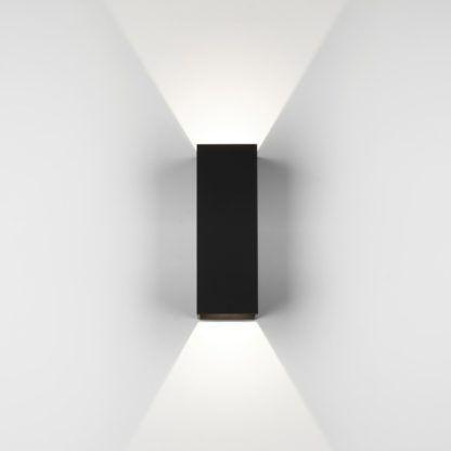 Kinkiet Oslo 255 LED - Astro Lighting - czarny, metal