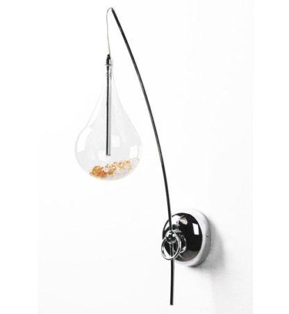 Kinkiet - Perle - Zuma Line - szkło, kryształ