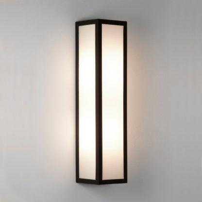 Kinkiet Salerno LED - Astro Lighting - czarny, biały