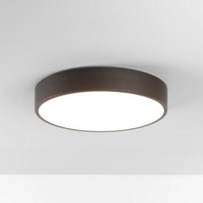 Klasyczny plafon Mallon LED - Astro Lighting - brąz