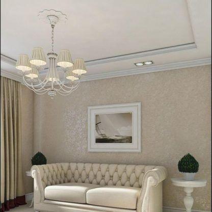 żyrandol do salonu w pałacowym stylu
