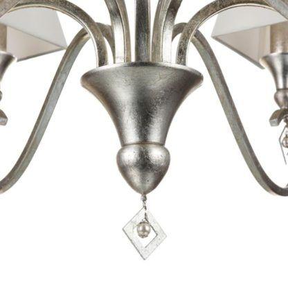 imitacja srebra/złota - żyrandol