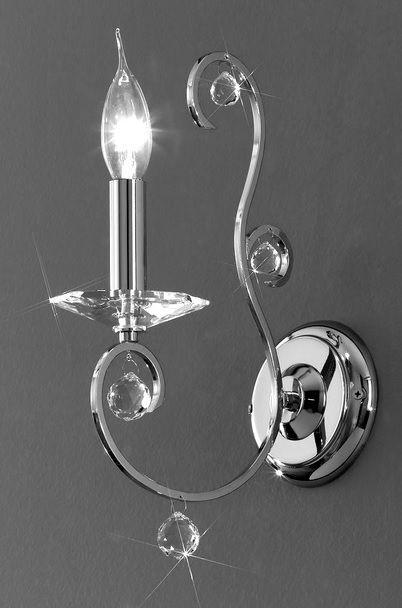 Kinkiet CARAT - Kolarz - kryształ, chrom