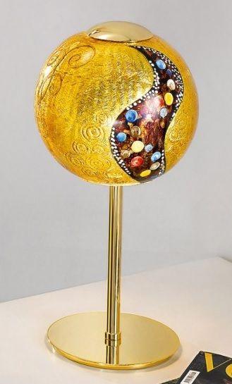 Lampa stołowa LUNA KISS - Kolarz - 24k złoto