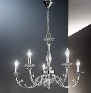 Żyrandol PISANI  - Kolarz - srebrny, chrom