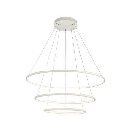 Potrójna lampa wisząca Nola LED - Maytoni - biała