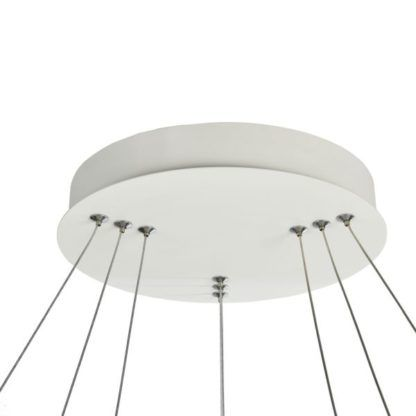 stalowe linki do lampy żyrandola