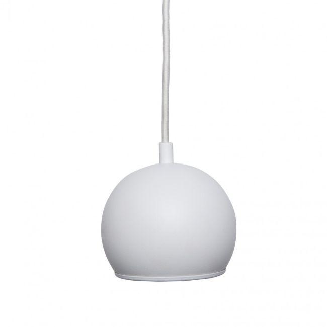 minimalistyczna lampa kuchenna w białym kolorze