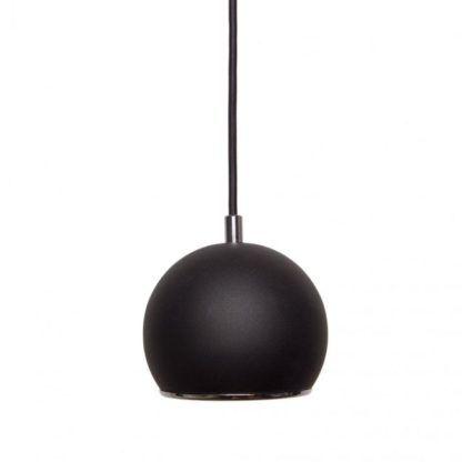 Lampa wisząca Kula - AV-Lighting - czarna, chrom