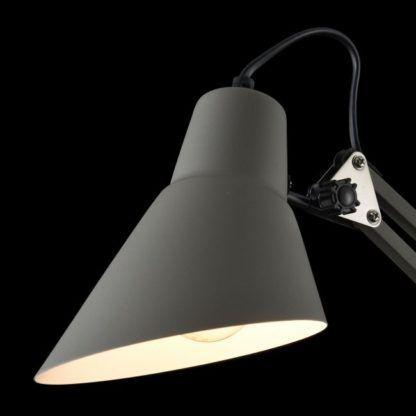 Lampa biurkowa Zeppo 136 - Maytoni - metal, szary