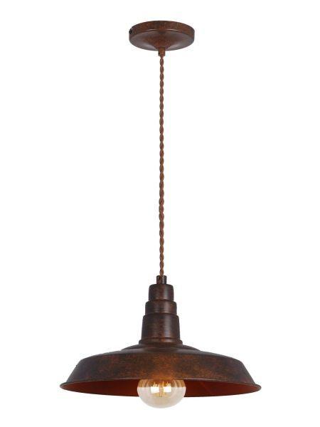 lampa wisząca z płaskim kloszem czarny mosiądz