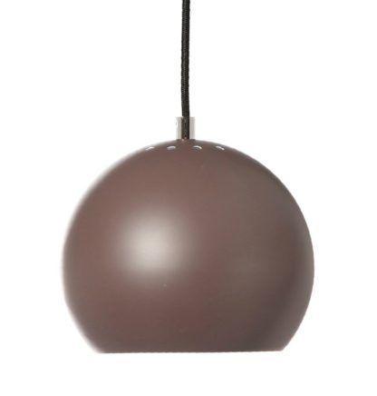 Kulista lampa wisząca Ball - Frandsen Lighting - brązowa - mat