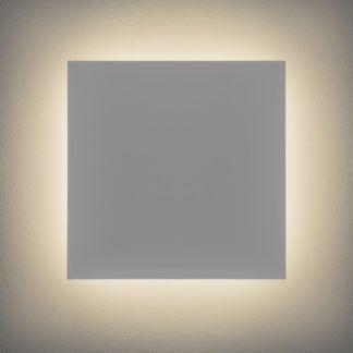 Kwadratowy kinkiet gipsowy Eclipse 300 LED - Astro Lighting - biały