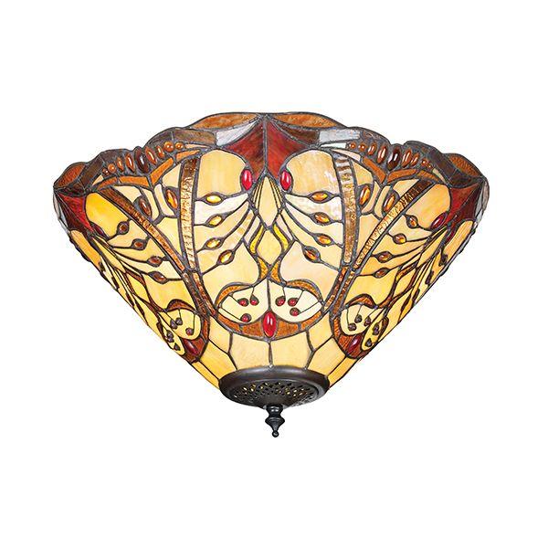 Lampa sufitowa Chatelet - Interiors - szklana