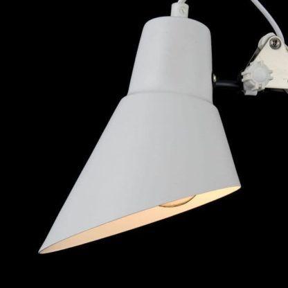 Lampa biurkowa Zeppo 136 - Maytoni - metal, biała