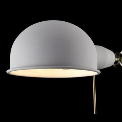 Lampa biurkowa Zeppo 137 - Maytoni - metal, biała