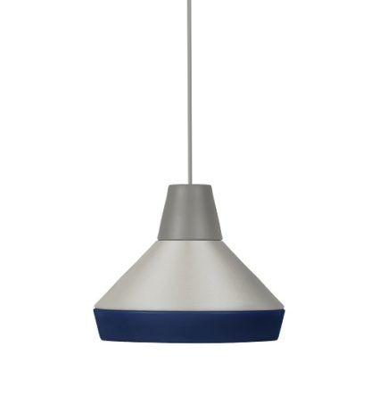 Lampa wisząca Cat's Hat szaro-niebieska - Grupa Products