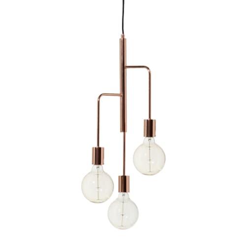 Lampa wisząca Cool - Frandsen Lighting - miedziana