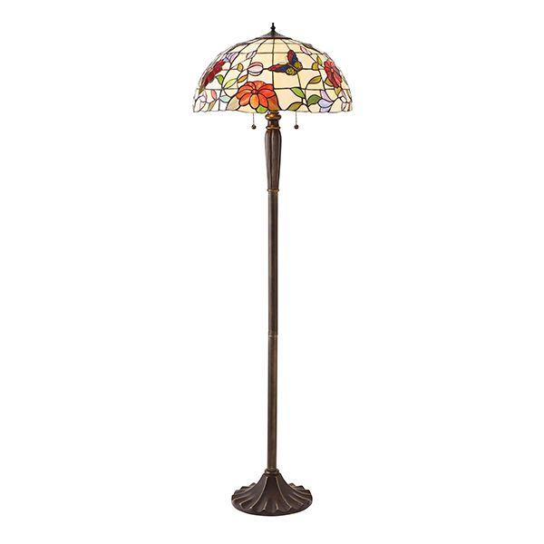 Lampa podłogowa Butterfly - Interiors - mozaika, szkło