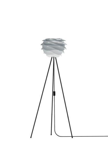 Lampa podłogowa Carmina mini Gradient Misty Grey Umage - tripod, szara
