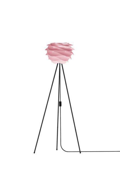 Lampa podłogowa Carmina mini Gradient BABY ROSE Umage - tripod, różowa
