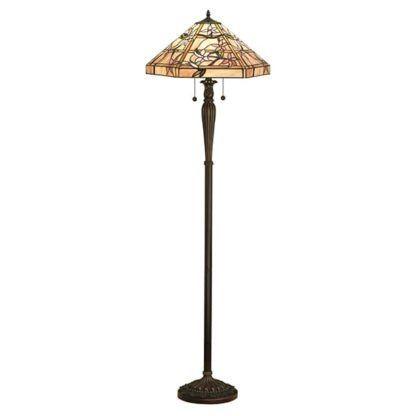 Lampa podłogowa Clematis - Interiors - ciemna podstawa