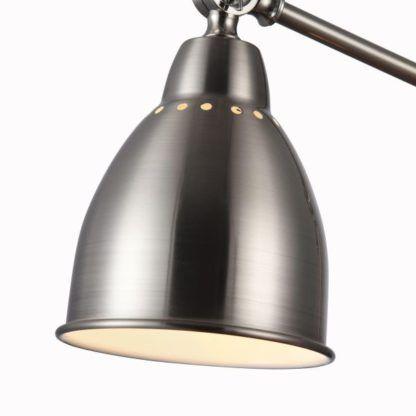Lampa podłogowa Domino - Maytoni - srebrna