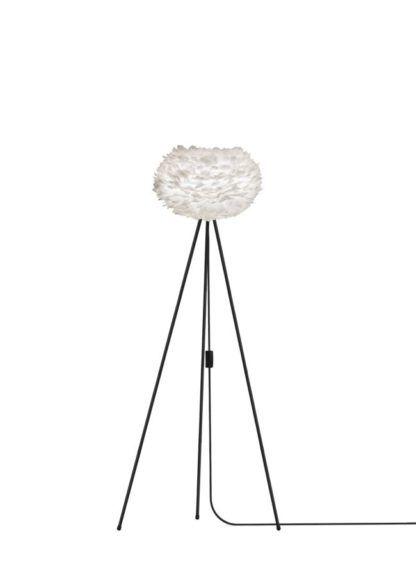 Lampa podłogowa - Eos Light - trójnóg - biała