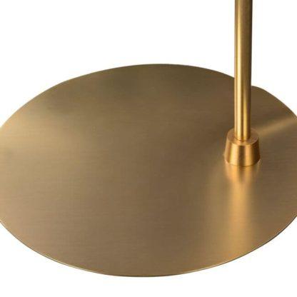 złota podstawa lampy stojącej podłogowej