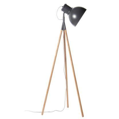 Lampa podłogowa trójnóg Industry - Frandsen Lighting - ciemna szara